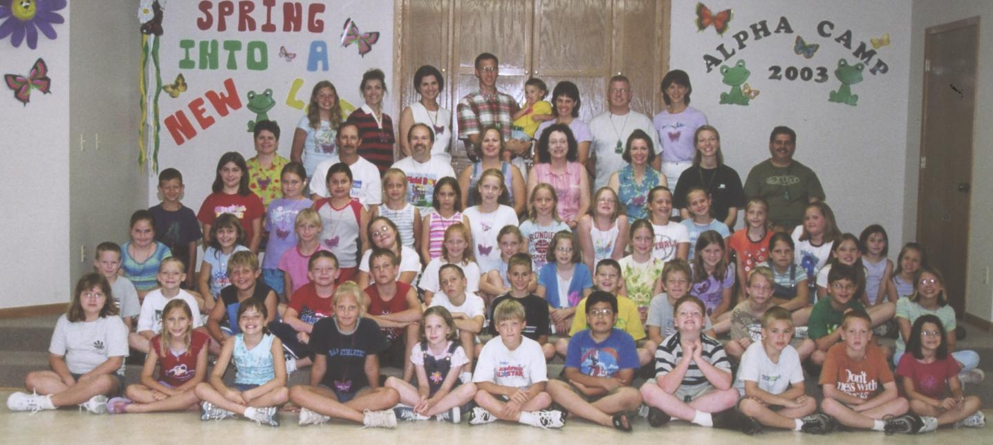 unity of the brethren alpha camp 2003